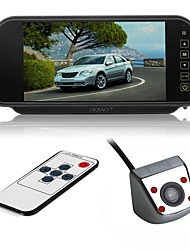 cheap -ZIQIAO CCD Car Reverse Rear View backup Camera Parking Rearview Parking System For VW Volkswagen Polo V(6R)/Golf 6 VI/Passat CC