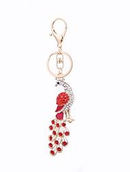 Недорогие -Брелок На каждый день корейский Модные кольца Бижутерия Красный / Синий Назначение Подарок Повседневные