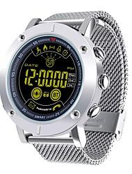 Недорогие -JSBP EX19 Мужчины Многофункциональные часы Смарт Часы Android iOS Bluetooth Контроль APP Израсходовано калорий Работает с системами iOS и Android. Напоминание о сообщении Напоминание о звонке