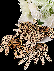 cheap -Ornaments Wooden Wedding Decorations Wedding / Party / Evening Garden Theme / Houses All Seasons