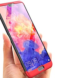 cheap -Phone Case For Huawei Full Body Case Huawei P20 Huawei P20 Pro Huawei P20 lite P10 Plus P10 Huawei P9 Ultra-thin Solid Color Hard PC