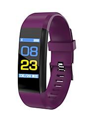 Недорогие -JSBP YY-CP115PLUS Женский Смарт Часы Умный браслет Android iOS Bluetooth Контроль APP Измерение кровяного давления Израсходовано калорий Педометры Общий / Напоминание о звонке / Сидячий Напоминание