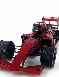 cheap -3D Puzzles Creative Focus Toy Hand-made Vehicles Standing Style Toy F1 car Gift