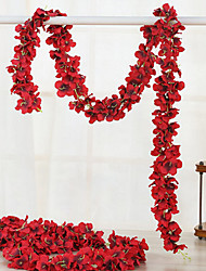 cheap -Artificial Flowers 1 Branch Luxury Wedding Hydrangeas Wall Flower