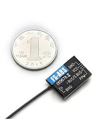 cheap -FLYSKY FS-A8S FS A8S 2.4G 8CH Mini Receiver 1pc Receiver Metal