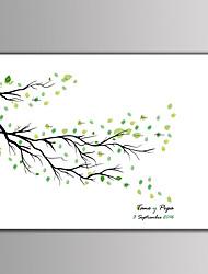 abordables -Cadres & Plateaux de signatures Autres Thème floral / Thème classique / Romance Avec Motif / Impression
