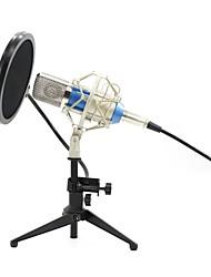 Недорогие -KEBTYVOR BM700+PC03+Pop Filter Проводное для Компьютерный микрофон