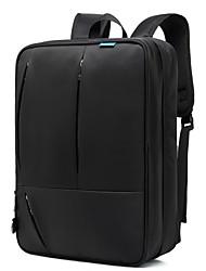 """Недорогие -Coolbell 17 """"Ноутбук Рюкзаки Нейлон Однотонный для делового офиса для колледжей и школ для путешествия Противоударное покрытие"""