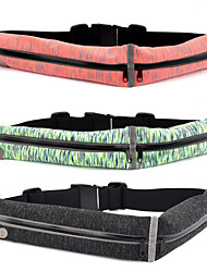 cheap -Fanny Pack Running Waist Belt Waist Bag / Pack for Running Marathon Climbing Cycling / Bike Sports Bag Multifunctional Waterproof Lightweight TPU Polyester Elastane Running Bag / Reflective Strips