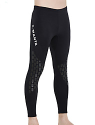 cheap -Men's Wetsuit Pants 1.5mm CR Neoprene Tights Bottoms UV Sun Protection Ultraviolet Resistant Outdoor Exercise Diving / Boating Watersports Solid Colored Spring, Fall, Winter, Summer / Stretchy