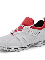 cheap -Unisex Athletic Shoes Flat Heel Tulle Comfort Spring & Summer Black / Light Grey