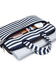 Недорогие -наплечные сумки сумки линии волны холст сумка для ноутбука MacBook Air 13,3 / MacBook Pro Retina 13,3 15,4 / новый MacBook 13,3 15,4 с сенсорной панелью
