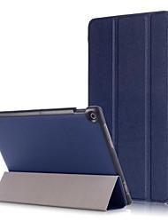 Недорогие -Кейс для Назначение Asus ASUS ZenPad 10 Z301ML / ASUS ZenPad 10 Z301MFL / ASUS ZenPad 10 Z301M Магнитный Чехол Однотонный Твердый Кожа PU