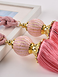 cheap -curtain Accessories Rope / Tassel / Tie Back Modern 2 pcs