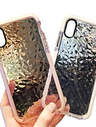cheap -Case For Apple iPhone X / iPhone 8 Plus / iPhone 8 Transparent Back Cover Geometric Pattern Soft TPU