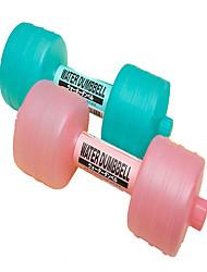 Недорогие -Гантели 10 см Диаметр Полипропиленовое волокно Регулируемый размер Гиря Похудение Аэробика и фитнес Тренировка в тренажерном зале Для