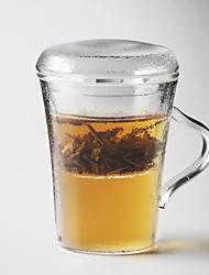 cheap -Drinkware High Boron Glass Vacuum Cup Heat-Insulated 1pcs