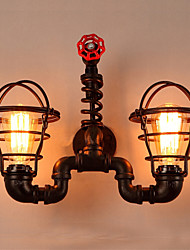 cheap -Novelty Wall Lamps & Sconces Outdoor / Shops / Cafes Metal Wall Light IP44 220-240V 40 W / E27