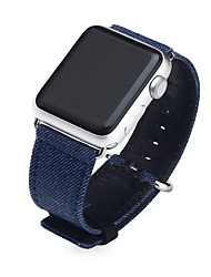 cheap -Watch Band for Apple Watch Series 5/4/3/2/1 Apple Classic Buckle / DIY Tools Fabric / Genuine Leather Wrist Strap