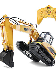 cheap -RC Car 1550 8CH 2.4G Excavator 1:14 Brush Electric 30 km/h