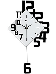 cheap -Modern / Contemporary Wood Novelty Indoor / Outdoor,AA Batteries Powered AA Wall Clock