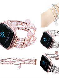 cheap -Watch Band for Fitbit Versa Fitbit Jewelry Design Ceramic Wrist Strap