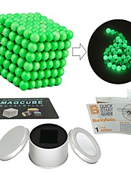cheap -216 pcs Magnet Toy Magnetic Balls Magnet Toy Building Blocks Super Strong Rare-Earth Magnets Neodymium Magnet Puzzle Cube Magnetic Glow-in-the-dark Glow in the Dark Stress and Anxiety Relief Office
