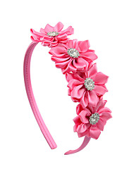 cheap -Hair Accessories Grosgrain Wigs Accessories Girls' 1pcs pcs 1-4inch cm Party / Daily Stylish Cute / Pink