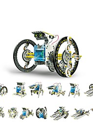 cheap -OWI 14-In-1 Science & Exploration Set Robot Solar Powered Creative DIY Teenager Toy Gift / Parent-Child Interaction