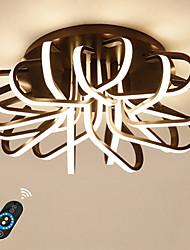 cheap -1-Light 50 cm Dimmable / Lovely Flush Mount Lights Aluminum Acrylic Linear Anodized LED / Chic & Modern 110-120V / 220-240V / FCC / VDE