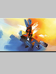 cheap -Mintura® Hand Painted Modern Abstract Oil Painting On Canvas Wall Art Pictures For Home Decoration Ready To Hang
