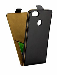 cheap -Case For Huawei P9 lite mini Card Holder / Flip Full Body Cases Solid Colored Soft PU Leather for P9 lite mini