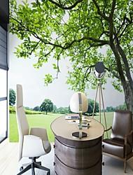 cheap -Green Tree Landscape Custom Wallcovering 3D Mural Wallpaper Suitable for Office Restaurant Bedroom Cafe Children'S Room