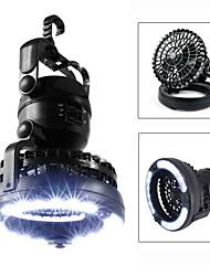 cheap -Lanterns & Tent Lights LED LED 18 Emitters Portable Camping / Hiking / Caving Fishing Black