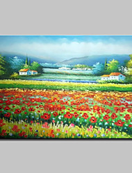 cheap -Mintura® Large Size Hand Painted Flowers Landscape Oil Painting On Canvas Wall Art Picture For Home Decoration No Frame