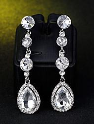 cheap -Women's Drop Earrings Drop Simple European Fashion Earrings Jewelry Silver For Wedding Daily