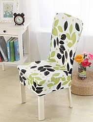 cheap -Slipcovers Chair Cover Leaf Pattern/ Multi Color/ Reactive Print Polyester/Highly Stretchy/ Easy to Install