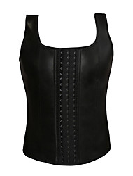 cheap -Sweat Vest Waist Trainer Vest Neoprene Tank Top Sports Rubber Exercise & Fitness Gym Workout Workout Compact Slimming Weight Loss Tummy Fat Burner For Men / Adults'