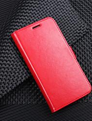 Недорогие -Кейс для Назначение HTC HTC U11 plus / HTC U11 Life / HTC U11 Кошелек / Бумажник для карт / Флип Чехол Однотонный Твердый Кожа PU