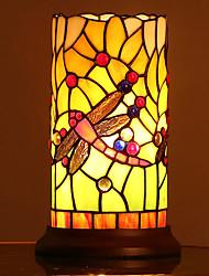 cheap -Tiffany Eye Protection Table Lamp For Bedroom / Kids Room Glass 110-120V / 220-240V
