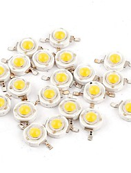 cheap -YouOKLight 50pcs High Performance LED Bulb Accessory Pure Gold Wire LED LED Chip Transparent 1 W