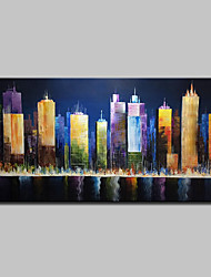 cheap -Mintura® Hand Painted Landscape Oil Painting On Canvas Modern Wall Art Picture For Home Decoration Ready To Hang