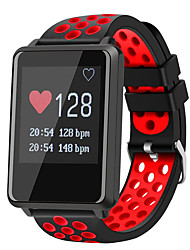 cheap -STF8 Men Smartwatch Android iOS Bluetooth Waterproof Touch Screen Heart Rate Monitor Blood Pressure Measurement Long Standby Pedometer Call Reminder Sleep Tracker Find My Device Alarm Clock