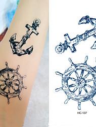 cheap -10 pcs Tattoo Stickers Temporary Tattoos Totem Series Body Arts Arm