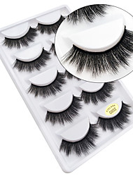 cheap -Eyelash Extensions False Eyelashes 10 pcs Professional Natural Curly Animal wool eyelash Daily Thick - Makeup Daily Makeup Halloween Makeup Party Makeup Professional High Quality Cosmetic Grooming
