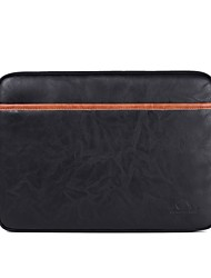"cheap -13"" Laptop / 14"" Laptop / 15"" Laptop Sleeves PU Leather Solid Colored"