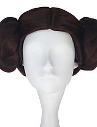 Недорогие -Наруто Косплей Косплэй парики Все 10 дюймовый Термостойкое волокно Коричневый Аниме