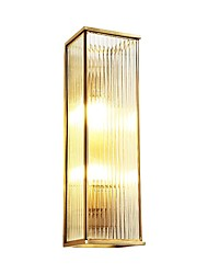 cheap -Crystal LED / Modern / Contemporary Wall Lamps & Sconces Living Room / Study Room / Office Metal Wall Light 110-120V /