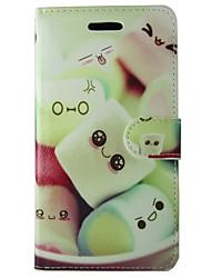 Недорогие -Кейс для Назначение SSamsung Galaxy S7 / S6 edge / S6 Кошелек / Бумажник для карт / со стендом Чехол Продукты питания Твердый Кожа PU