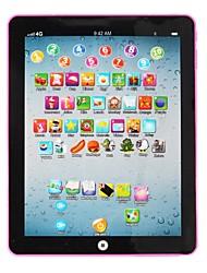 Недорогие -Learning Tablet Обучающая игрушка Подражательная игрушка для iPad Алфавит обучающая машина Взаимодействие родителей и детей мини с Экран Детские Все 1 pcs Игрушки Подарок / Чтение писем